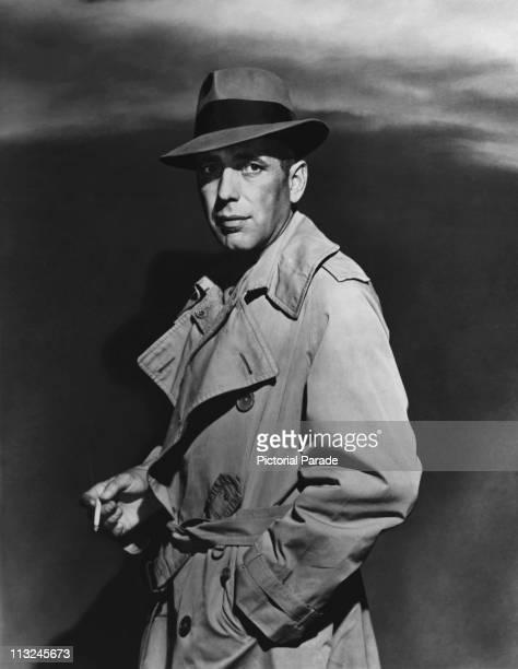 American actor Humphrey Bogart in the 1940's
