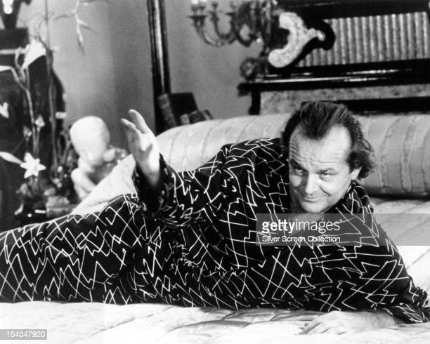 American actor Jack Nicholson as Daryl Van Horne in 'The Witches Of Eastwick' directed by George Miller 1987