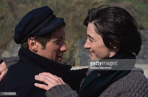 American actor James Spader stars with French actress Anne Brochet in the film 'Driftwood' 1997