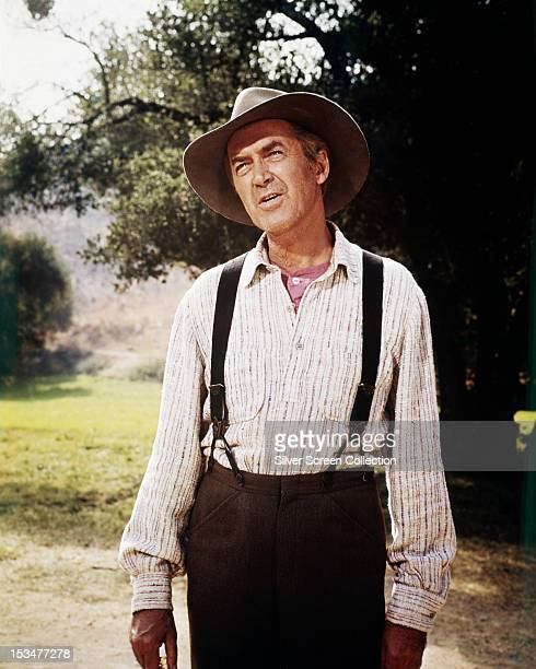 American actor James Stewart as Charlie Anderson in 'Shenandoah' directed by Andrew V McLaglen 1965