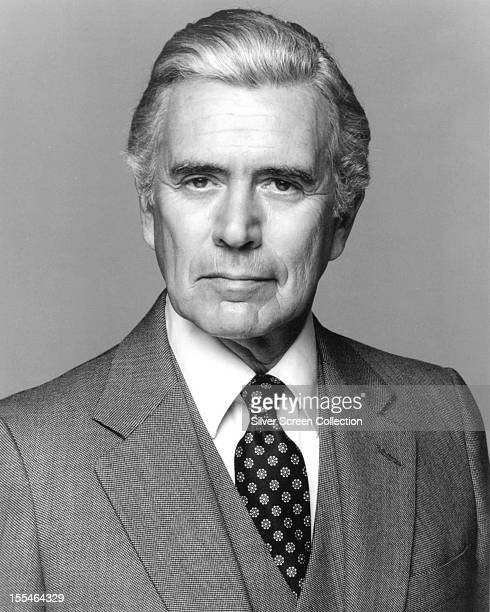 American actor John Forsythe as Blake Carrington in the US TV series 'Dynasty' circa 1985