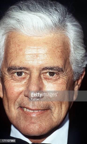 American actor John Forsythe circa 1990