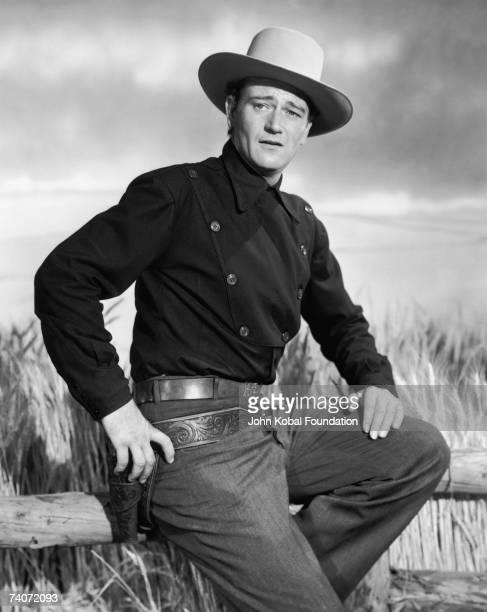 American actor John Wayne circa 1945