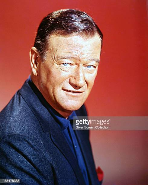 American actor John Wayne circa 1960