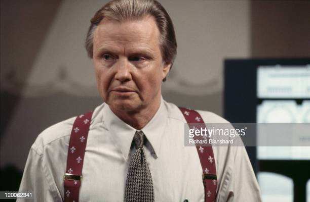 American actor Jon Voight stars in the film 'Mission Impossible' 1996
