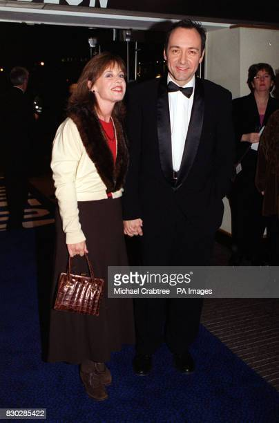 American actor Kevin Spacey at the closing night gala of The London Film Festival for the European premiere of Sam Mendes' cinematic debut American...
