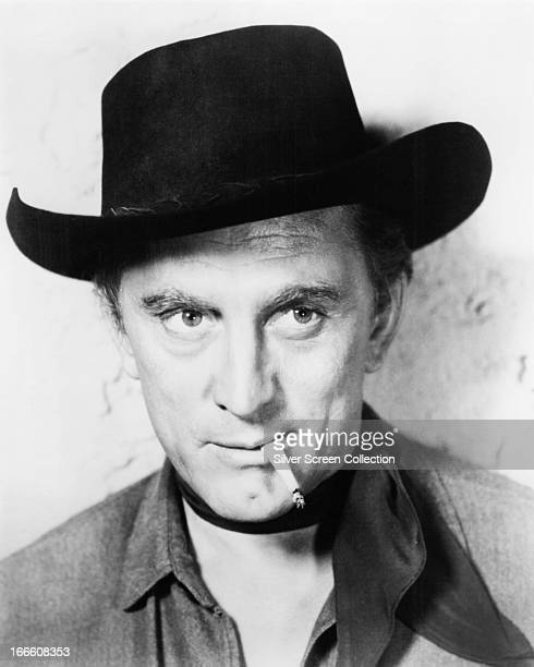 American actor Kirk Douglas as Dempsey Rae in the western 'Man Without A Star' directed by King Vidor 1955