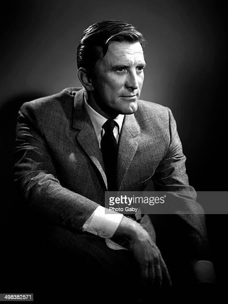 American actor Kirk Douglas Los Angeles 1957