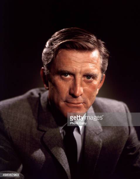American actor Kirk Douglas Los Angeles 1957