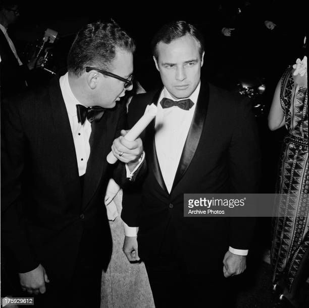 American actor Marlon Brando at the premiere of his film 'The Mutiny on the Bounty' USA November 1962