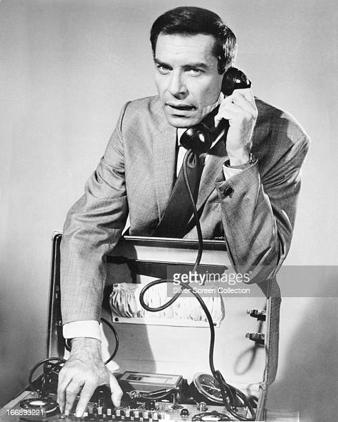 American actor Martin Landau as agent Rollin Hand in the TV series 'Mission Impossible' circa 1966