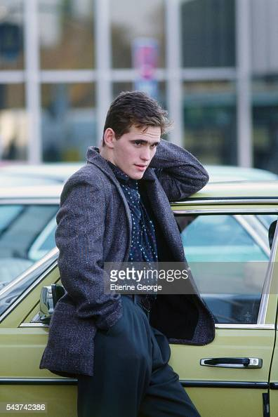 American actor Matt Dillon on the set of the film 'Target' directed by Arthur Penn