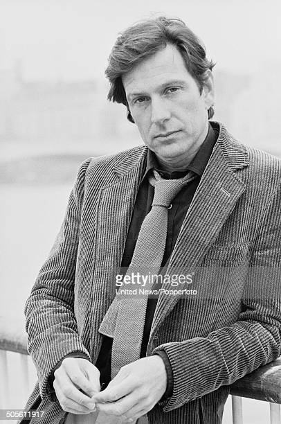American actor Michael Brandon from the television police drama series Dempsey and Makepiece posed in London on 28th March 1984