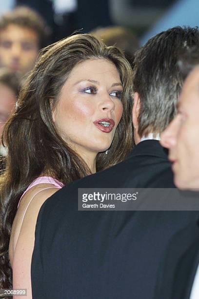 American actor Michael Douglas and wife Catherine Zeta Jones attend the Laureus World Sports Awards at the Grimaldi Forum in Monte Carlo Monaco on...