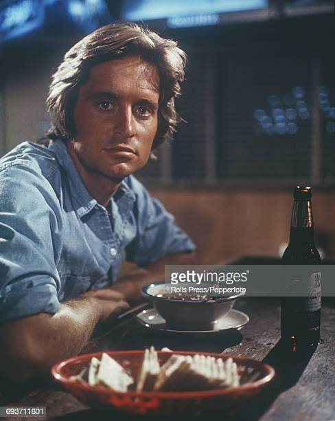 American actor Michael Douglas who plays the role of Adam Gaines in the film 'Adam at Six AM' pictured in character circa 1969