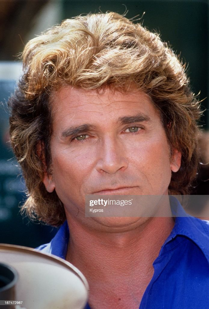 American actor <a gi-track='captionPersonalityLinkClicked' href=/galleries/search?phrase=Michael+Landon&family=editorial&specificpeople=228407 ng-click='$event.stopPropagation()'>Michael Landon</a> (1936 - 1991), circa 1985.