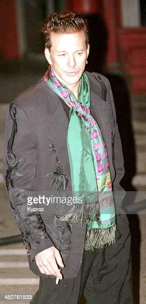American actor Mickey Rourke circa 1990