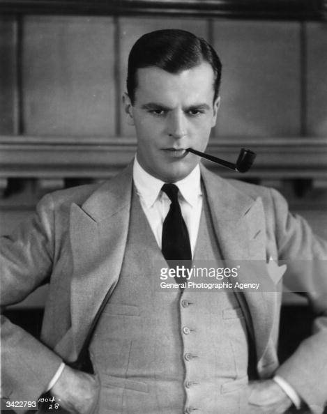 American actor Neil Hamilton as he appears in the silent film version of 'The Great Gatsby' based on the novel by F Scott Fitzgerald