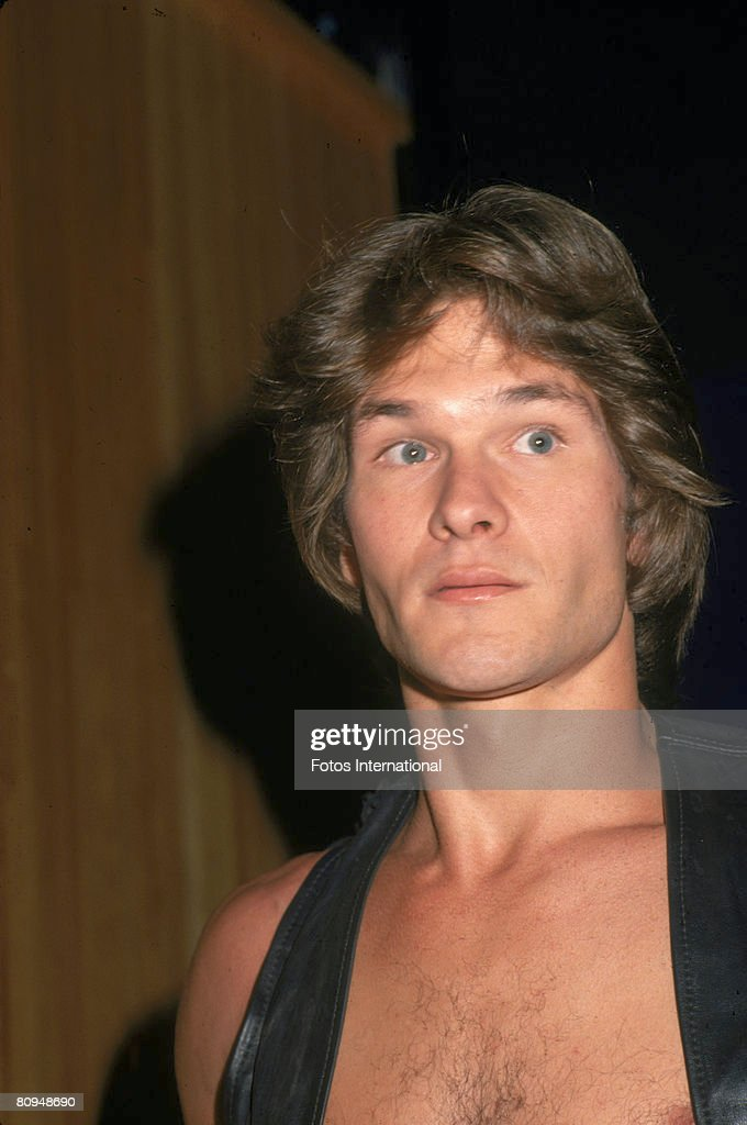 American actor Patrick Swayze at the premiere party for the movie 'Skatetown USA' at Flippers roller rink, Los Angeles, California, October 1979.