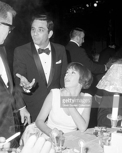 American actor Peter Falk and American actress and comedian Carol Burnett at the 18th Emmy Awards at the Hollywood Palladium Los Angeles 22nd May 1966