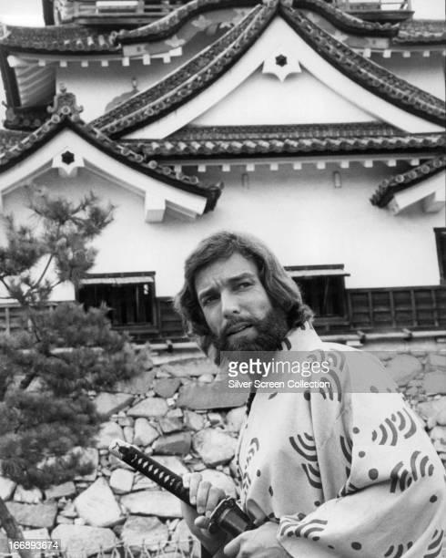 American actor Richard Chamberlain as John Blackthorne in the TV miniseries 'Shogun' directed by Jerry London 1980
