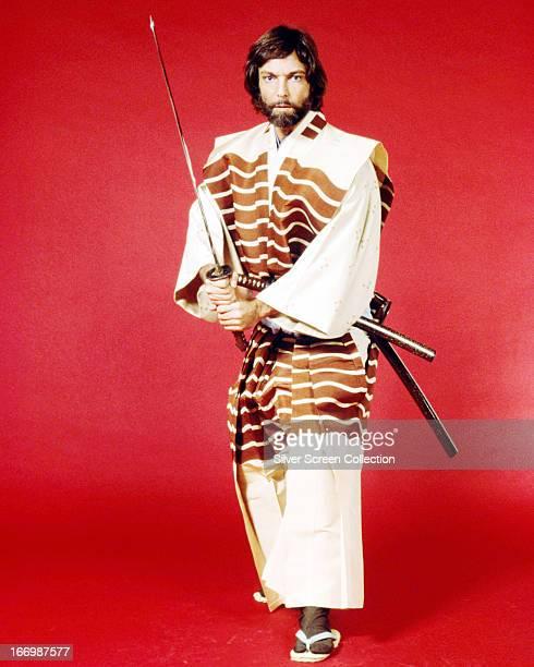 American actor Richard Chamberlain as John Blackthorne in the TV miniseries 'Shogun' 1980