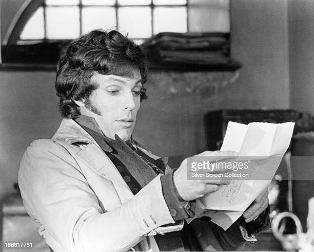 American actor Richard Chamberlain as Lord Byron in 'Lady Caroline Lamb' directed by Robert Bolt 1973