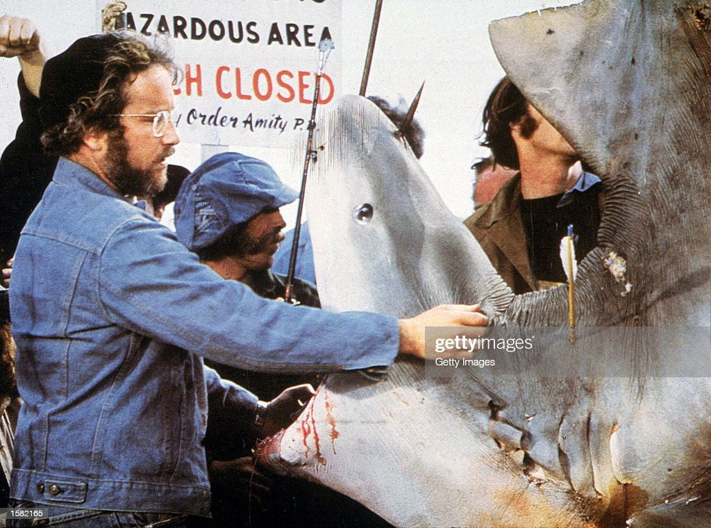 an analysis of great white by steven spielberg What's the significance of the shooting star in jaws up vote 31 down vote favorite in the movie jaws , during the night/early morning scene where hooper , quint and chief brody encounter the great white shark (when the shark begins pounding on the boat), just after the shark goes away there's a shooting star in the corner of the scene, and it .