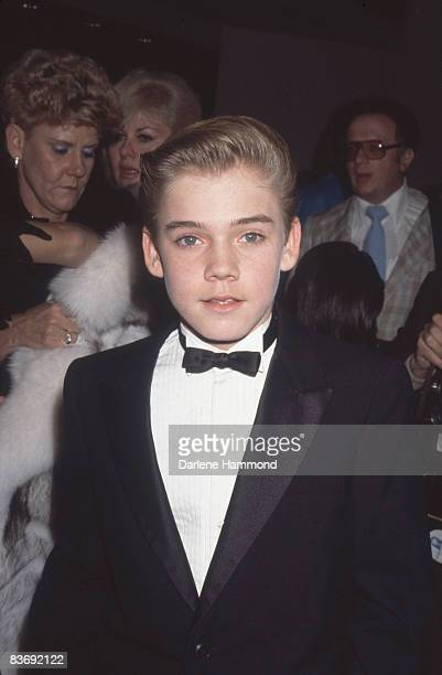 American actor Ricky Schroder attends the Youth In Film Awards Los Angeles California December 2 1984