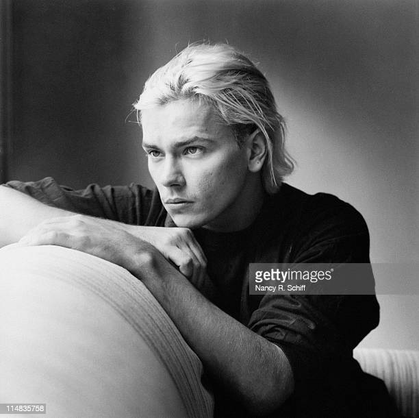 American actor River Phoenix 1991