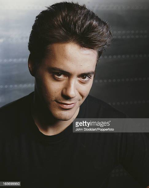 American actor Robert Downey Jr 1990