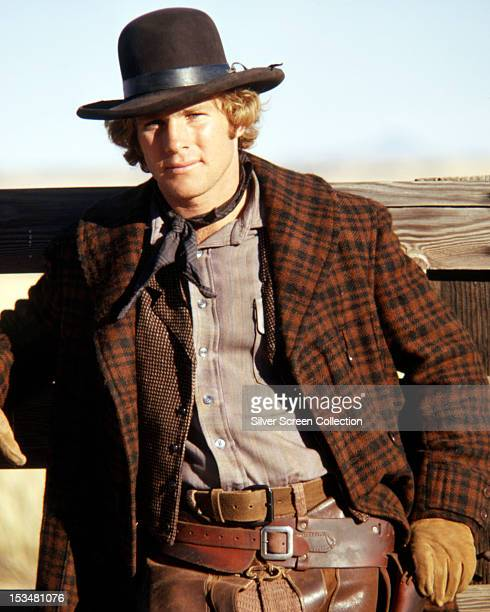 American actor Ryan O'Neal as Frank Post in the western 'Wild Rovers' directed by Blake Edwards 1971