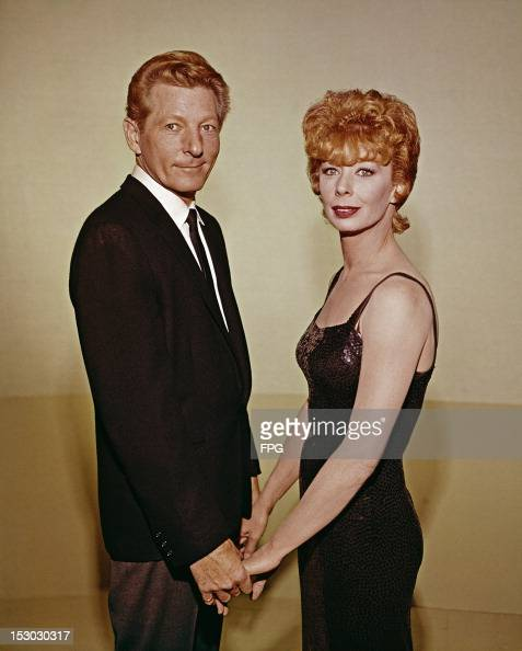 American actor singer and comedian Danny Kaye with actress and dancer Gwen Verdon circa 1965