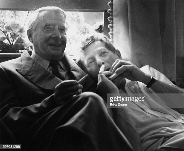 American actor singer and comedian Danny Kaye with conductor Charles Munch circa 1960