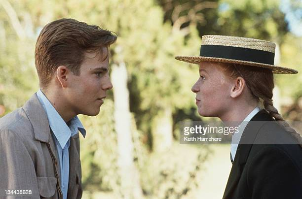 American actor Stephen Dorff as the 18yearold PK and actress Fay Masterson as Maria Elisabet Marais in the film 'The Power of One' 1992
