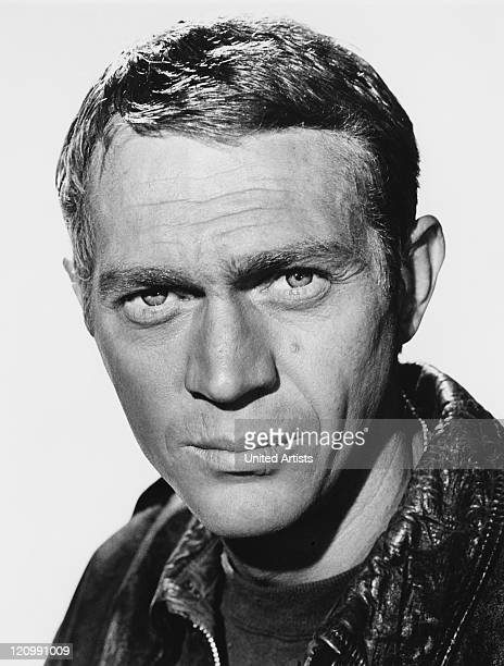 American actor Steve McQueen as Captain Virgil Hilts in the United Artists film 'The Great Escape' 1963