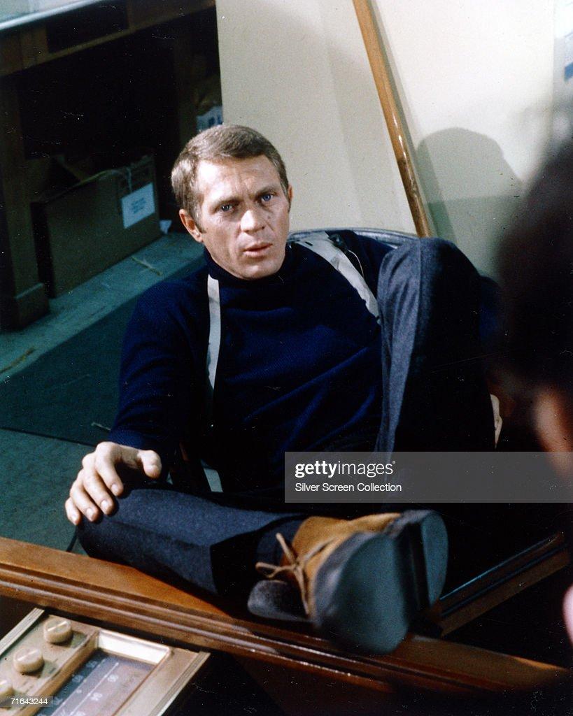 American actor Steve McQueen (1930 - 1980) as Lt. Frank Bullitt in Peter Yates' crime thriller 'Bullitt', 1968.