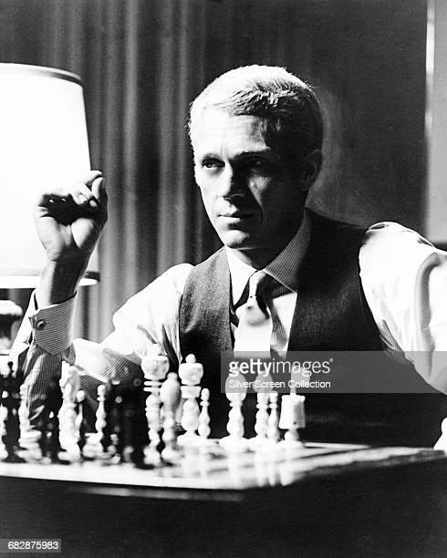American actor Steve McQueen as Thomas Crown in the film 'The Thomas Crown Affair' 1968
