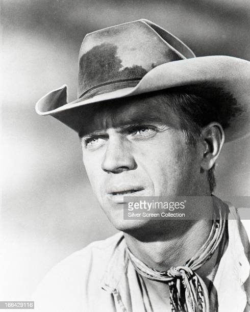 American actor Steve McQueen as Vin Tanner in 'The Magnificent Seven' directed by John Sturges 1960