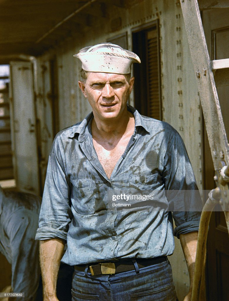 American actor Steve McQueen (1930-1980) in a movie still from Sand Pebbles, directed by Robert Wise.