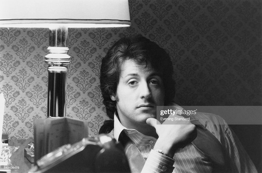 American actor Sylvester Stallone London 12th January 1979
