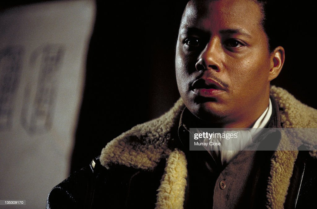 American actor Terrence Howard as Lieutenant Lincoln A. Scott in a scene from the film 'Hart's War', 2002.