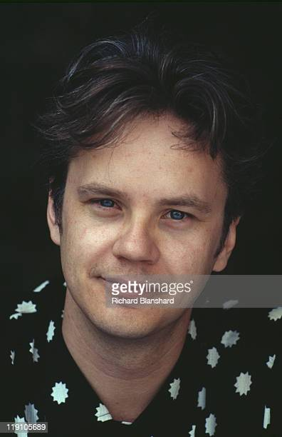 American actor Tim Robbins at the Cannes Film Festival in France to promote the film 'The Player' 11th May 1992
