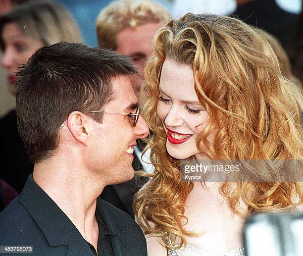American actor Tom Cruise with his wife actress Nicole Kidman circa 1992