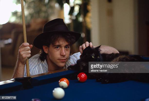 American actor Tom Hulce relaxes in Los Angeles