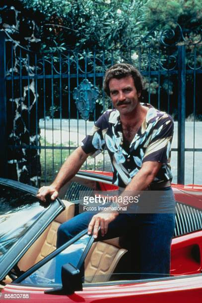 Magnum p i stock photos and pictures getty images - Tom selleck shows ...