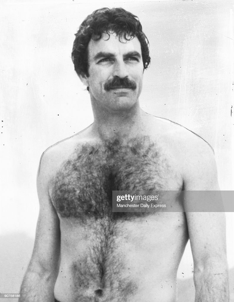 American actor Tom Selleck star of the �Magnum� TV series