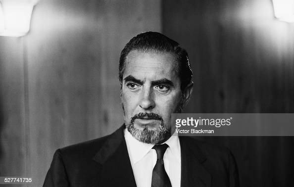 American actor Tyrone Power in London 14th August 1958