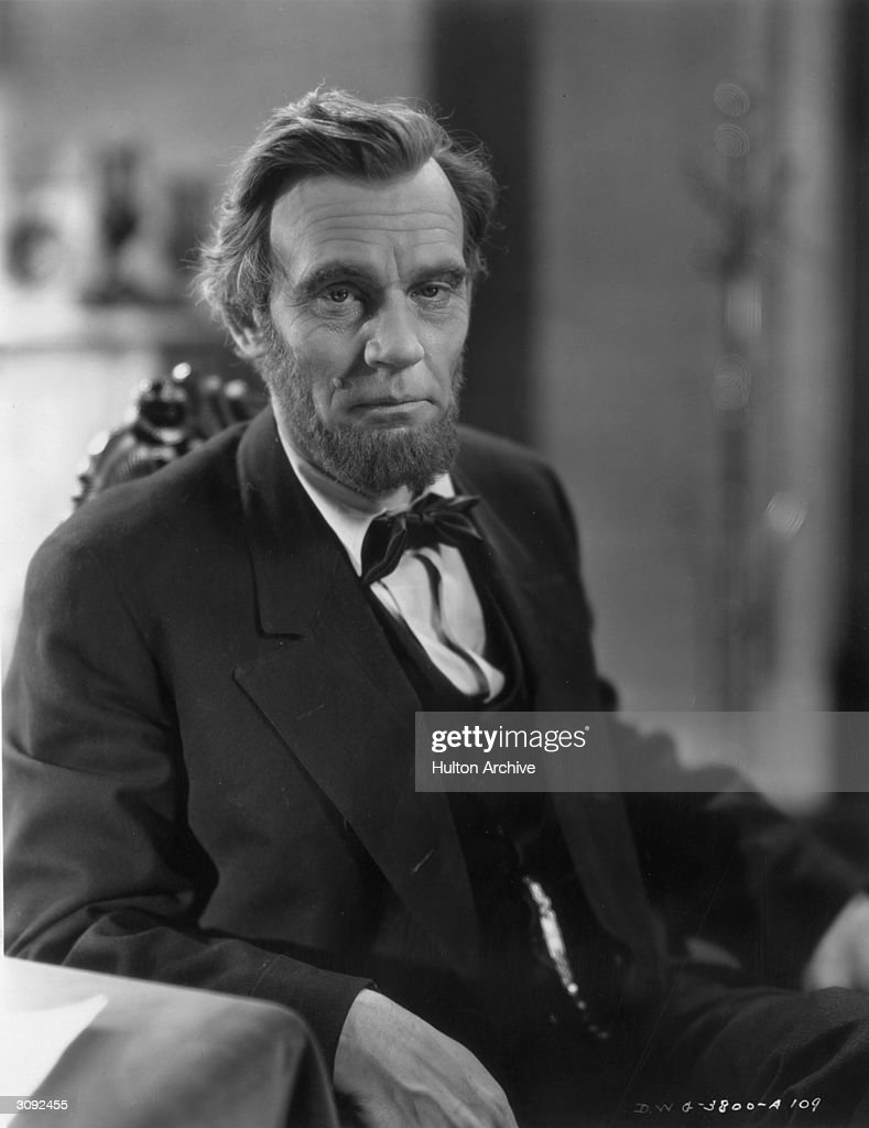 Abraham Lincoln Bio Walter Huston Pictures Getty Images