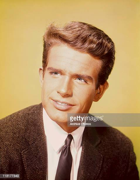 American actor Warren Beatty poses circa 1962
